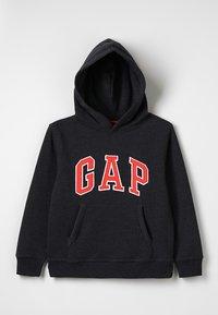 GAP - BOYS ACTIVE ARCH  - Bluza z kapturem - charcoal grey - 0