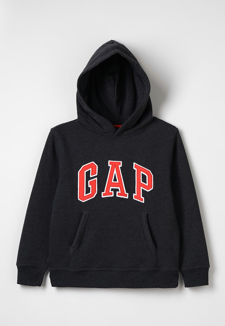 GAP - BOYS ACTIVE ARCH  - Bluza z kapturem - charcoal grey