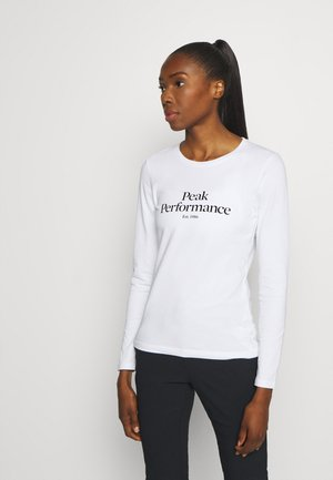 ORIGINAL - Long sleeved top - white