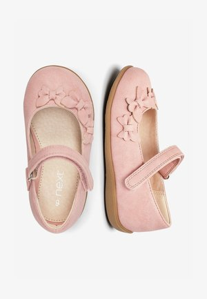 WHITE BUTTERFLY MARY JANE SHOES (YOUNGER) - Ballerina's met enkelbandjes - pink