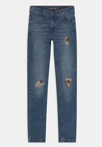 Guess - JUNIOR SKINNY FIT  - Jeans Skinny Fit - blue wash - 0