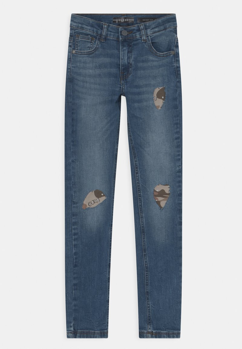 Guess - JUNIOR SKINNY FIT  - Jeans Skinny Fit - blue wash