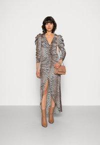 Notes du Nord - VICTORIA DRESS LEO - Maxi dress - brown/copper - 1