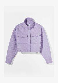 Bershka - Light jacket - mauve - 4