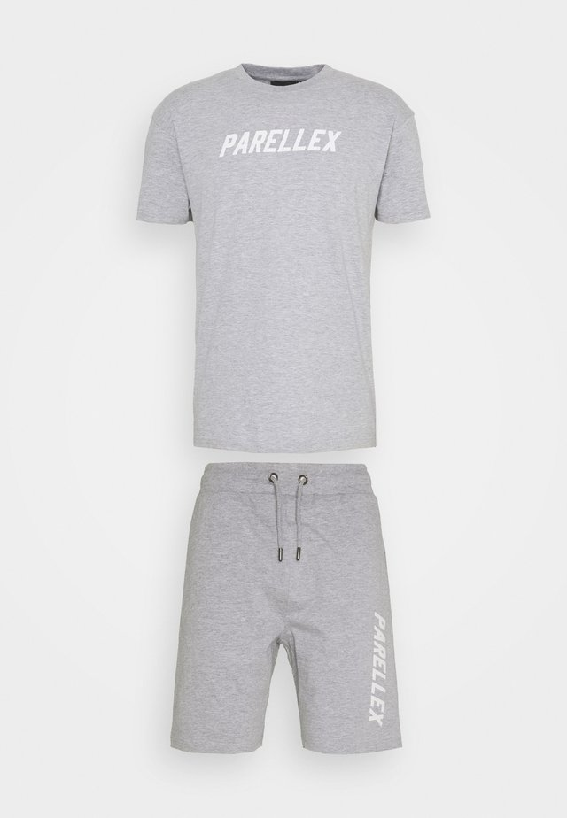 LOUNGE TEE LOUNGE TWIN SET - Verryttelypuku - grey marl