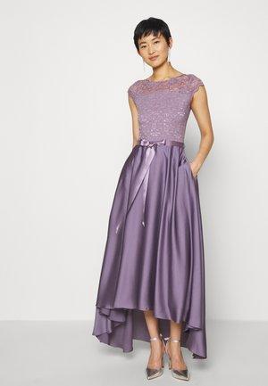 Vestido de fiesta - grau/violett