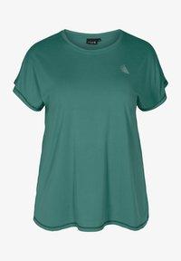 Active by Zizzi - Basic T-shirt - green - 0