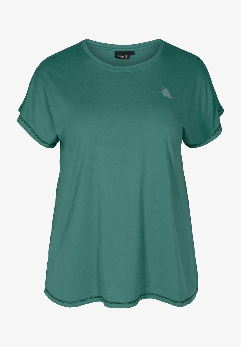 Active by Zizzi - Basic T-shirt - green