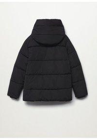 Mango - STEPP-ANORAK MIT KAPUZE - Winter coat - schwarz - 6