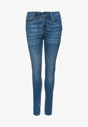 CRAFTED - Jeansy Skinny Fit - blue