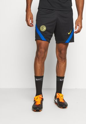 INTER MAILAND DRY SHORT - Sports shorts - black/blue spark/tour yellow