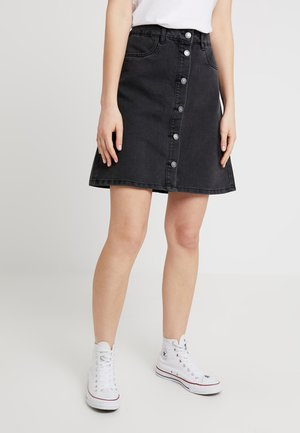 ONLFARRAH SKIRT - Áčková sukně - black denim