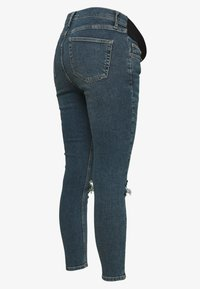 Topshop Maternity - JAMIE ALABAMA RIP - Jeans Skinny Fit - green cast - 1