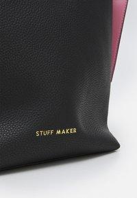 STUFF MAKER - ROYAL GARDEN - Shoppingveske - black - 2