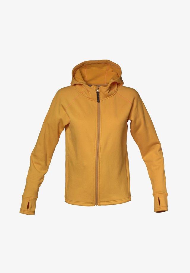 Fleece jacket - saffron