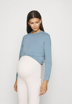 CROPPED - Sweatshirt - goblin blue