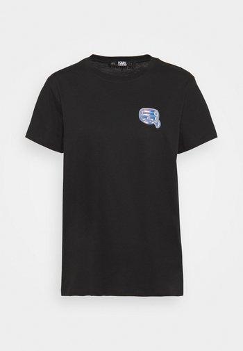 MINI IKONIK BALLOON TEE - Print T-shirt - black