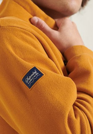 HERITAGE MOUNTAIN GRAPHIC - Hoodie - spectra yellow