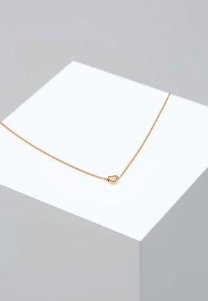 HERZ HEART LIEBE - Necklace - gold