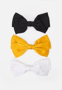 ONLMEREL BOW 3 PACK - Accessori capelli - black/yellow/off white