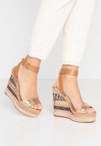 River Island - High heeled sandals - brown - 0