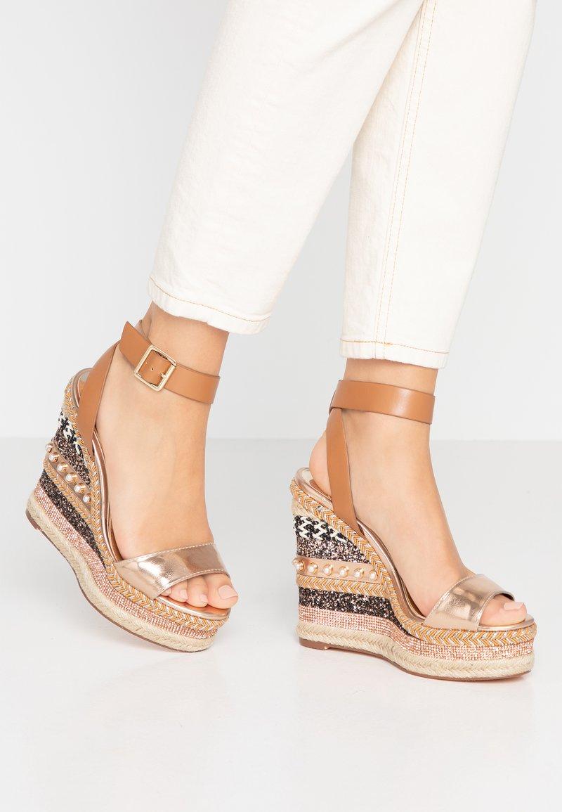 River Island - High heeled sandals - brown