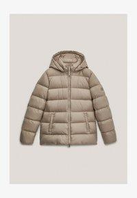 Massimo Dutti - Down jacket - beige - 3