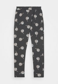 Sanetta - PURE KIDS TROUSERS - Tracksuit bottoms - seal grey - 0