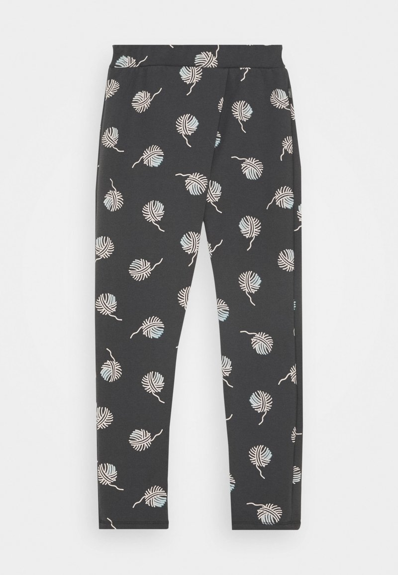 Sanetta - PURE KIDS TROUSERS - Tracksuit bottoms - seal grey