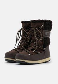 Moon Boot - MONACO MID WP - Winter boots - dark brown - 2
