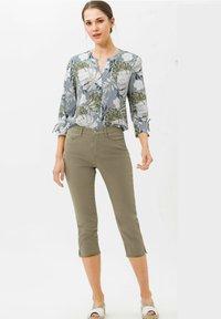 BRAX - MARY - Trousers - light khaki - 1