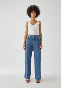 PULL&BEAR - Jeans Straight Leg - blue denim - 1