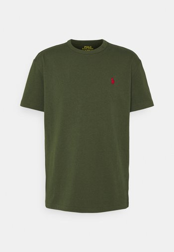 CLASSIC FIT JERSEY T-SHIRT - T-shirts - army
