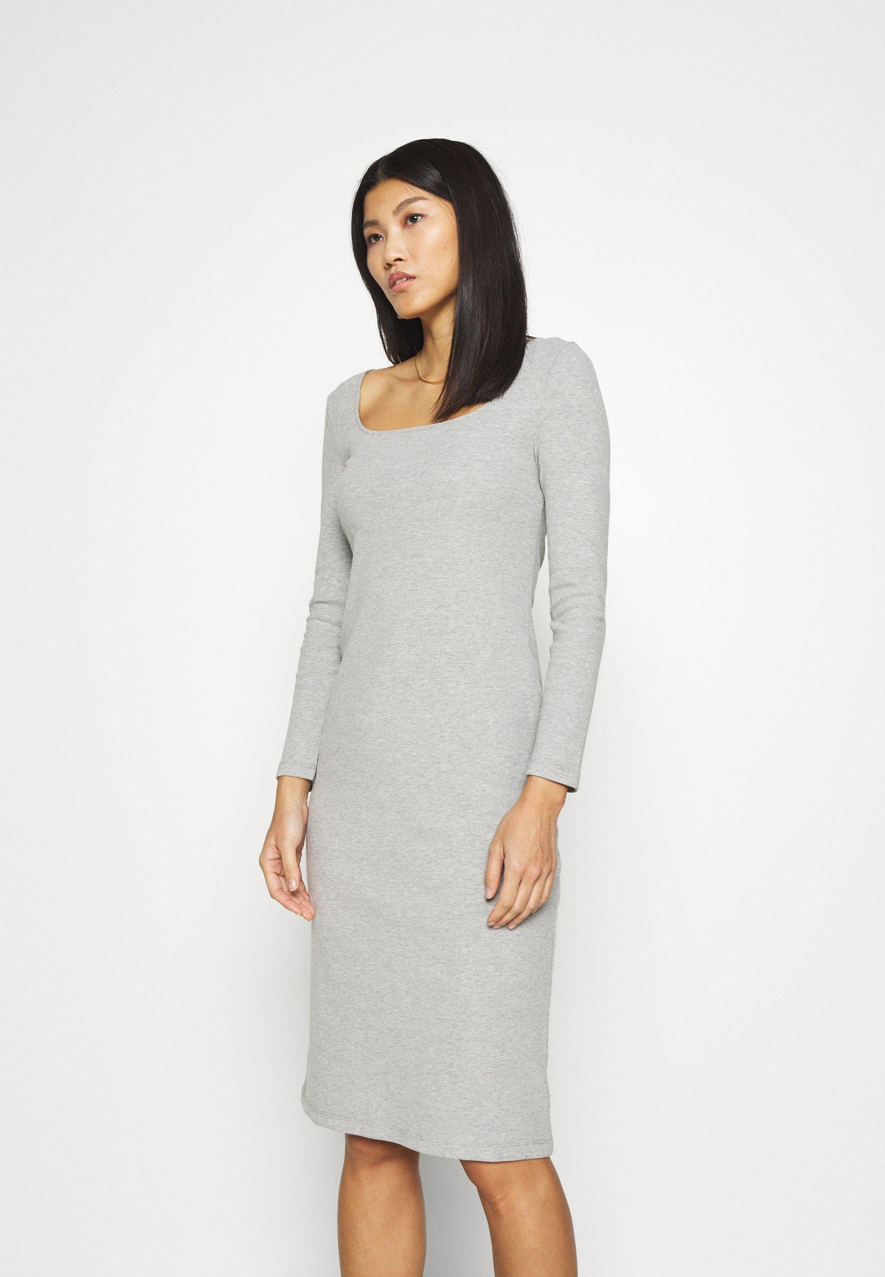 Women SQUARENECK DRESS - Jumper dress