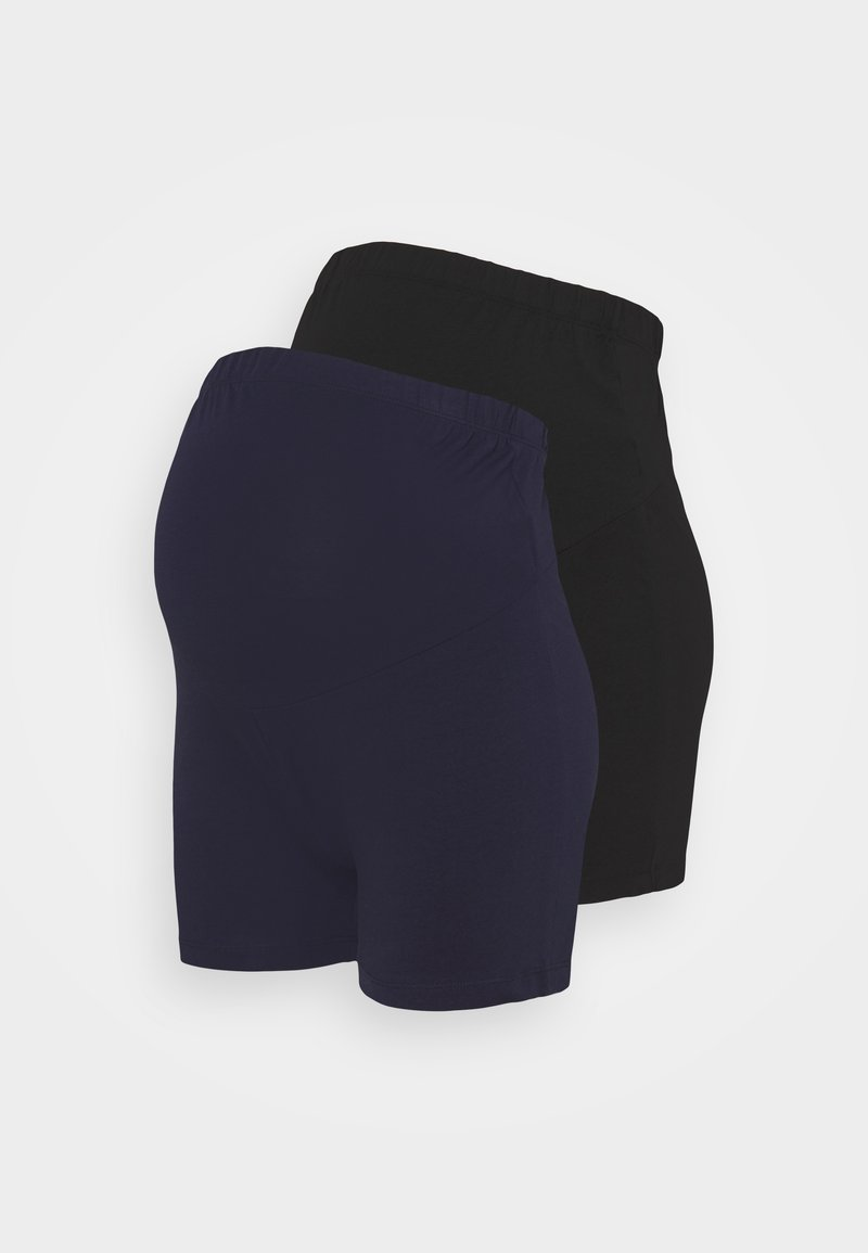Anna Field MAMA - Shorts - black / dark blue