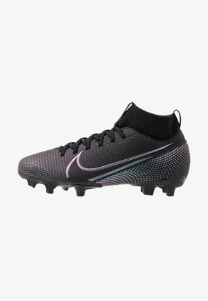 MERCURIAL JR 7 ACADEMY FG/MG UNISEX - Moulded stud football boots - black
