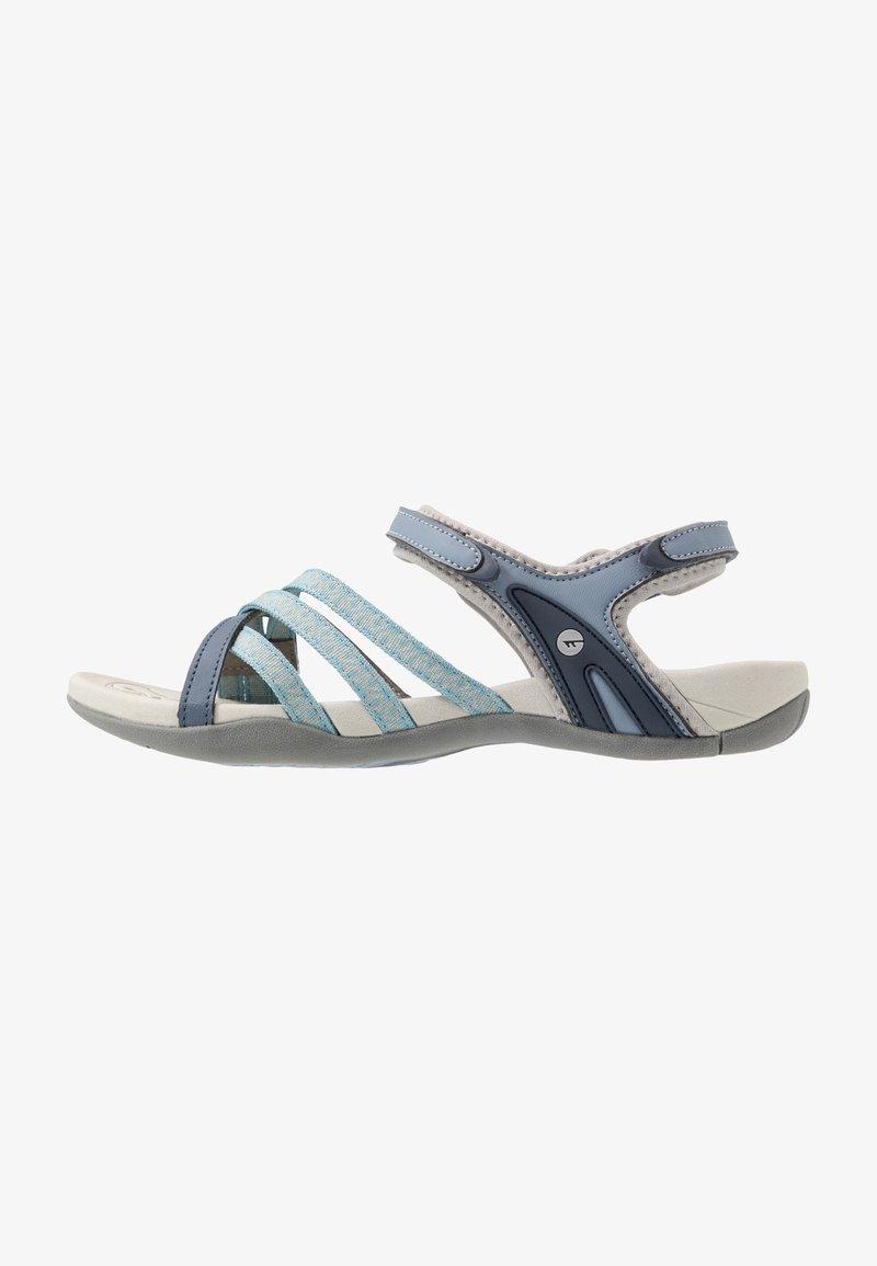 Hi-Tec - SAVANNA II  - Chodecké sandály - flinstone/charcoal/dusty blue