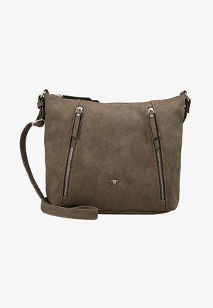 CAROL CROSSBAG - Across body bag - taupe