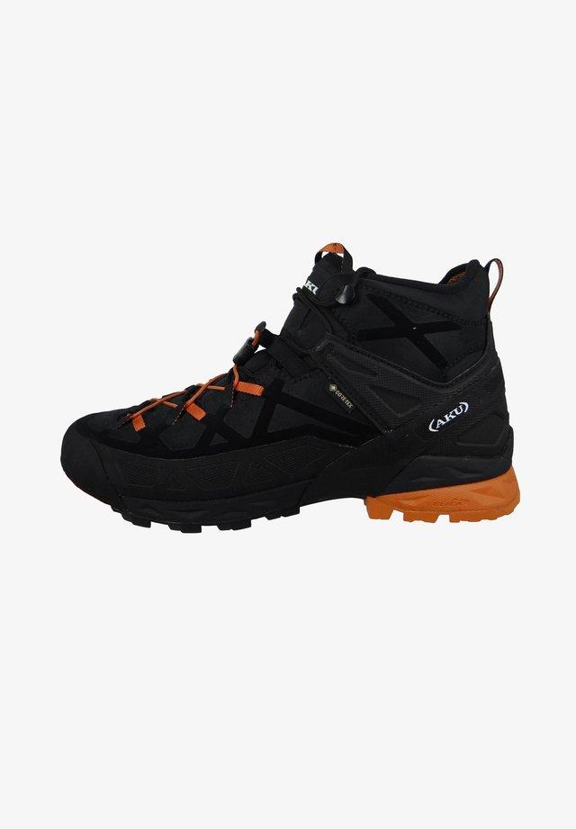 Outdoorschoenen - black orange