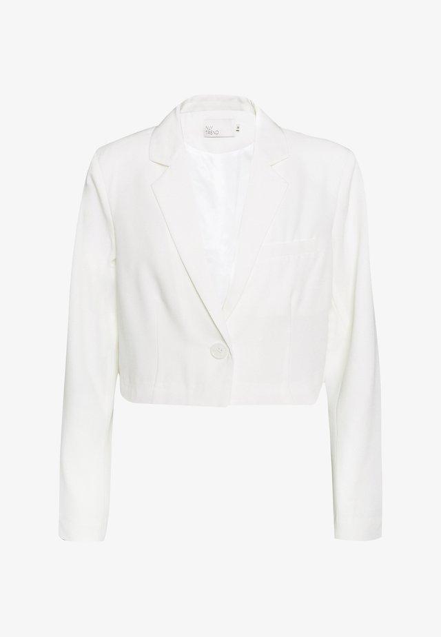 CROPPED - Blazer - white