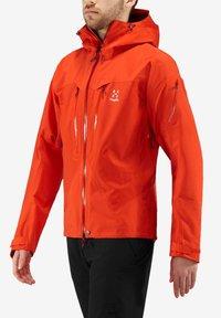 Haglöfs - SPITZ JACKET - Hardshell jacket - havana - 0