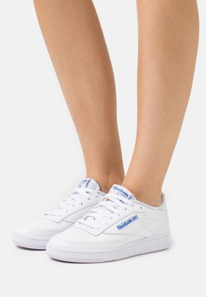 CLUB C 85 - Trainers - white/luminous lilac/court blue