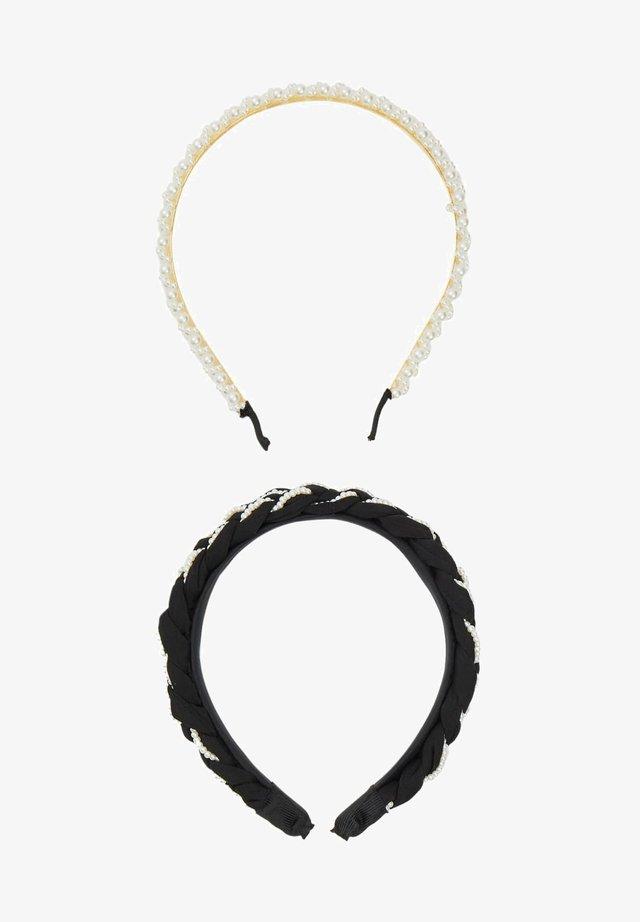 2 PACK - Hårstyling-accessories - black