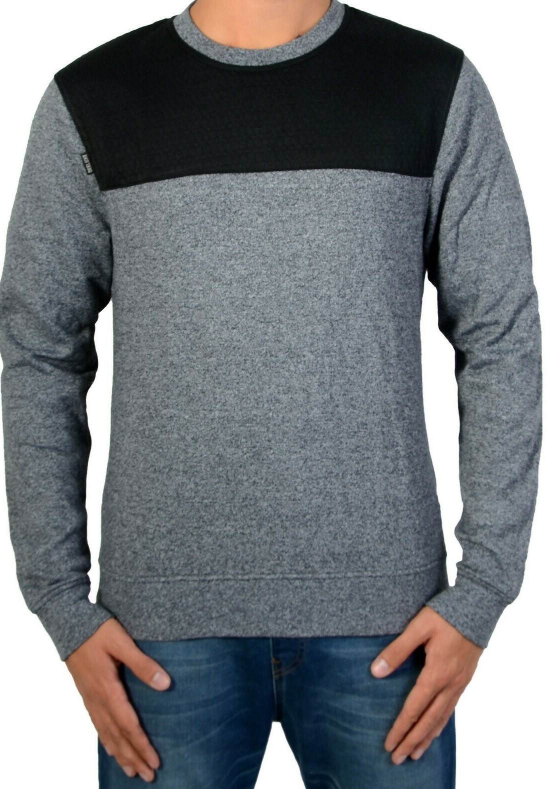Homme LUDOVIK CHARCOAL - Pullover