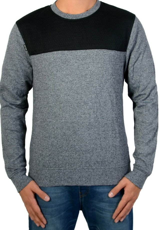 LUDOVIK CHARCOAL - Pullover - grey