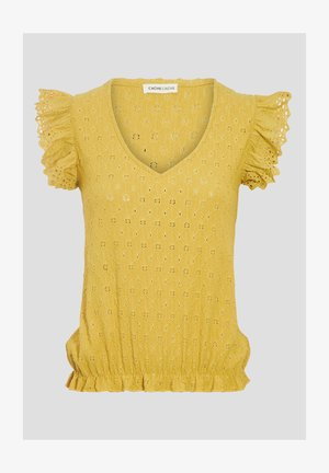 Blusa - jaune moutarde