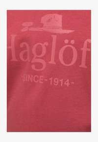 Haglöfs - CAMP TEE - Print T-shirt - brick red