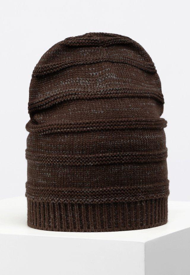 BRYDGES SET  - Bonnet - dark brown