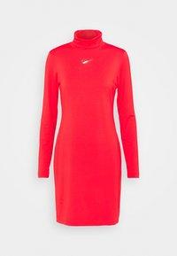 Nike Sportswear - DRESS MOCK - Sukienka z dżerseju - crimson - 4