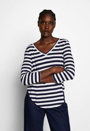 Camiseta de manga larga - white/marititime blue